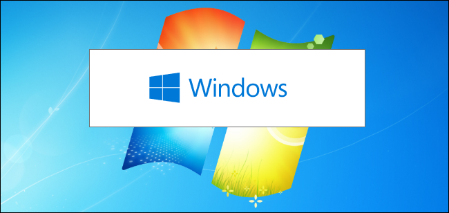 Windows 10 installer on a Windows 7 background image.