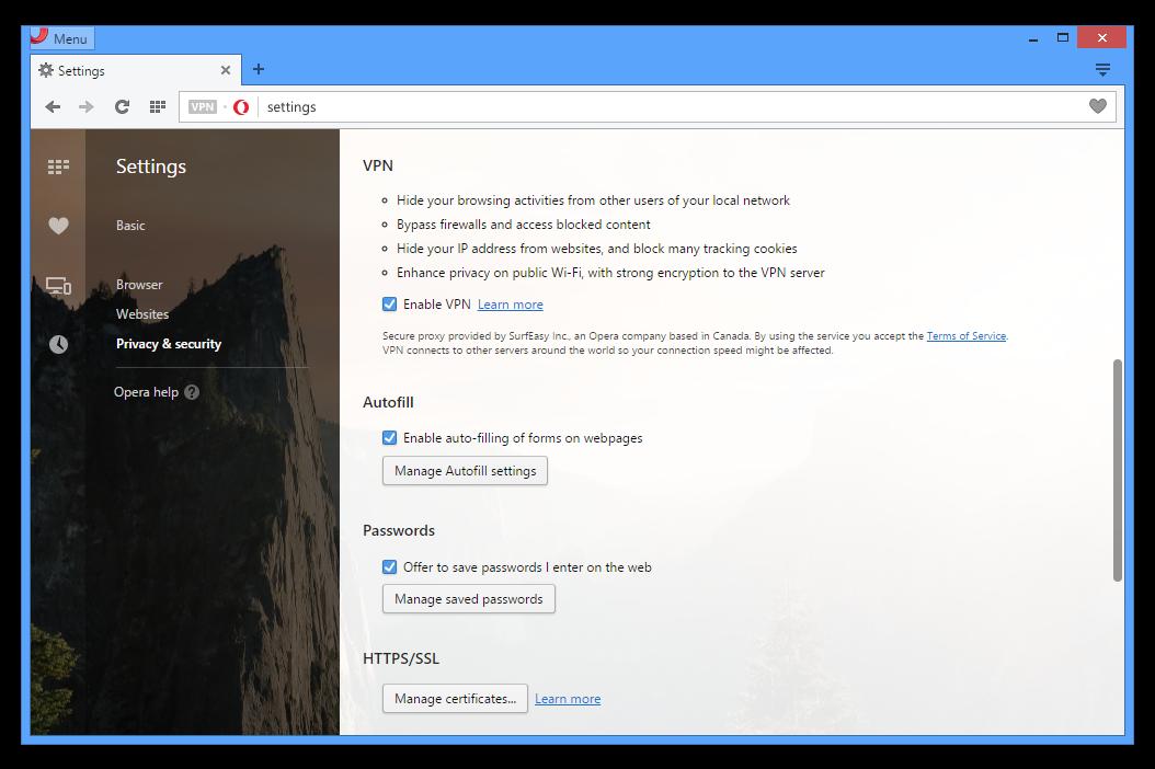 Opera desktop browser free download.